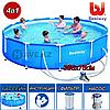 Каркасный бассейн 56416, Steel Pro Frame Pool, размер 366x76 см