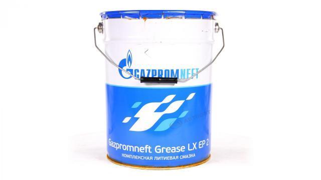 Высокотемпературная синяя смазка Gazpromneft Grease LX EP 2 18кг