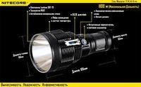 Фонарь поисковый светодиодный NITECORE TM36 Lite (без элементов питания)