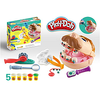 "Набор пластилина ""Доктор Зубастик"" Play-Doh PD8605"