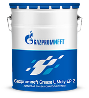 Gazpromneft Grease L Moly EP 2 (18кг) литиевая смазка с дисульфидом молибдена , фото 1
