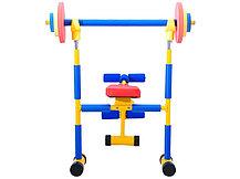 Детский тренажер скамья для жима LEM-KWB001 доставка, фото 3