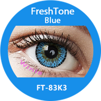 FreshTone Natural Blue EYE to EYE