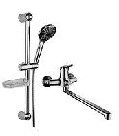 Комплект для ванной комнаты «2 в 1»   LeMark Серия  LM7303C
