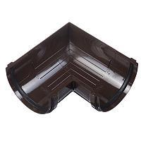 Угол желоба 90° универсальный коричневый Docke Standart, фото 1