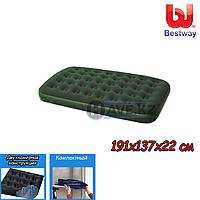 Полуторный надувной матрас Bestway 67448, размер 191x137x22 см, фото 1