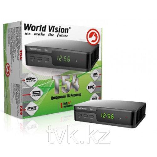 Цифровой эфирный приемник World Vision T54