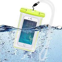 Универсальный светящийся в темноте водонепроницаемый футляр для iPhone 7 6 5 S для Samsung, фото 1