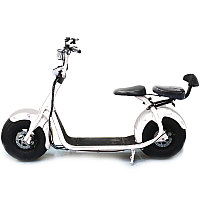 Электроскутер Fat-Scooter Eltreco 1000W City Coco