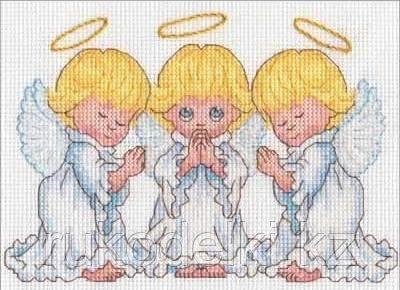 """Набор для вышивания крестом """"Ангелочки"""""""