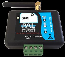 Модель Light: GSM ключ, контроллер, модуль A