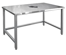 Стол для сбора отходов ССО-1 (каркас крашеный)