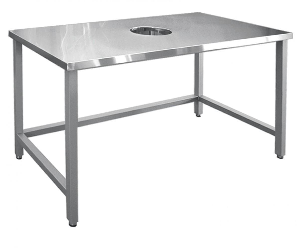 Стол для сбора отходов ССО-4 (вся нерж.)