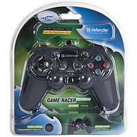 Геймпад Defender GAME RACER TURBO RS3 2 джойстика, 12 кн., USB/PS2/PS3