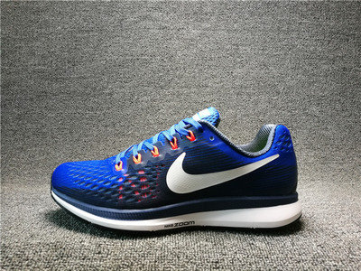 Кроссовки nike air zoom pegasus 34 синие 40-44, фото 2