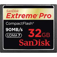 Карта памяти SanDisk Extreme PRO CompactFlash 32 Gb, 90 MB/s, скорость 600x, фото 1