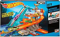 "Hot Wheels City Трек ""Мега-гараж. Motorized Mega Garage"""