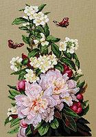 """Набор для вышивания крестом """"Пионы"""", фото 1"""