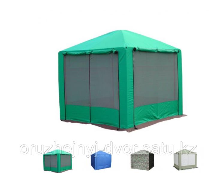 """Шатёр """"Пикник"""" 2,5х2,5м антимоскитная сетка с 4х сторон,  oxford 240D PU 2000"""