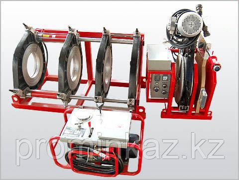 Утюг для пластиковых труб 63-160мм, (гидравлический)