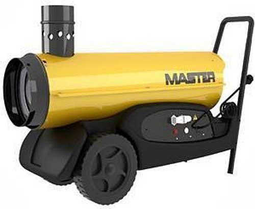 Жидкотопливный нагреватель Master: BV 290E  - 81 кВт (с непрямым нагревом)