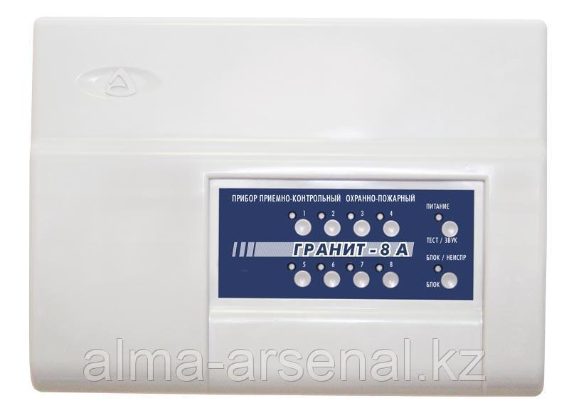 Приемно-контрольный и охрано-пожарный прибор Гранит-8А
