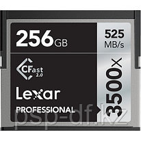 Карта памяти Lexar 256GB Professional 3500x CFast 2.0 Memory Card