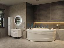 Акриловая ванна Лав 185х135 (Левая) (Полный комплект) Ассиметричная. Угловая, фото 3