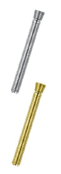 Винт блокирующий канюлированный самонарезающий диаметром 5.0 мм, с полной резьбой