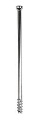 Винт канюлированный самосверлящий диаметром 7.3мм, с длинной резьбы 16 мм