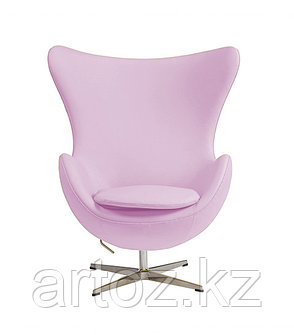 Кресло Egg Chair leatherette (pink), фото 2
