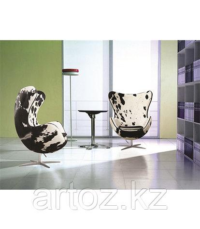 Кресло Egg chair Cow (White/Black), фото 2