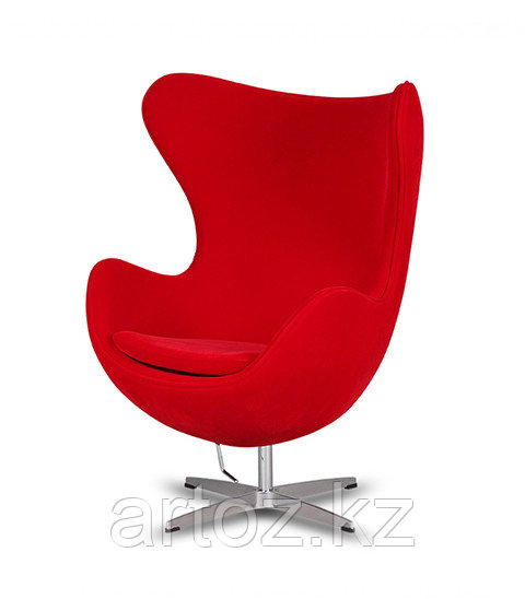 Кресло Egg Chair velvet (red)
