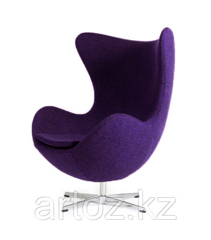Кресло Egg Chair cashemere (violet), фото 2