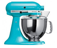 Стационарный миксер KitchenAid Artisan с чашей 4.8 литра голубой кристалл