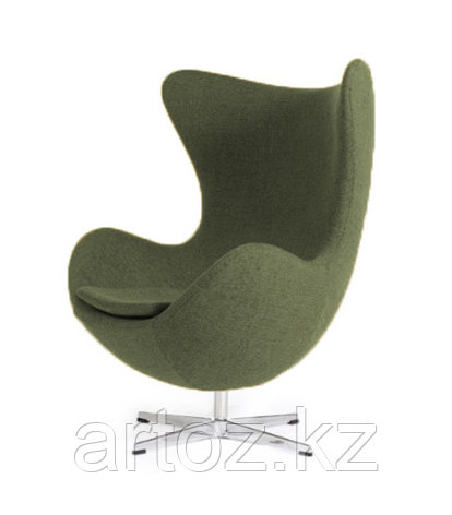 Кресло Egg Chair cashemere (khaki), фото 2