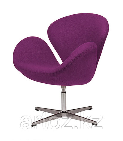 Кресло Swan chair cashemere (magenta), фото 2