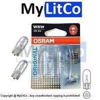 OSRAM  Автомобильная лампа W5W комплект