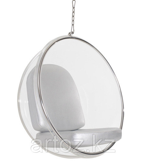 Кресло Bubble chair hanging (silver)
