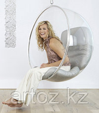 Кресло Bubble chair hanging (silver), фото 3