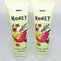 Медовый скраб-крем  Mistine Honey Facial Scrub Cream