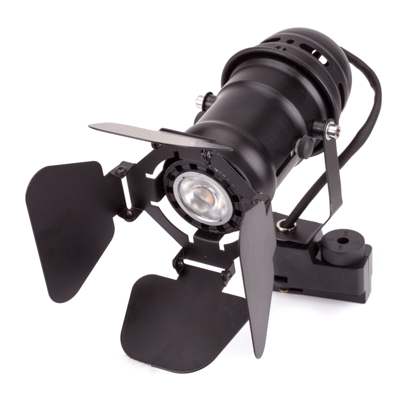 Трековый светодиодный светильник LED GU10 5W (в комплекте)