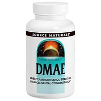 ДМАЭ DMAE Диметиламиноэтанол 351 мг. 200 таблеток.