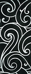 Керамическая плитка GRACIA Prime black decor 02(250*600)