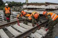 Строительство автомобильных и железных дорог