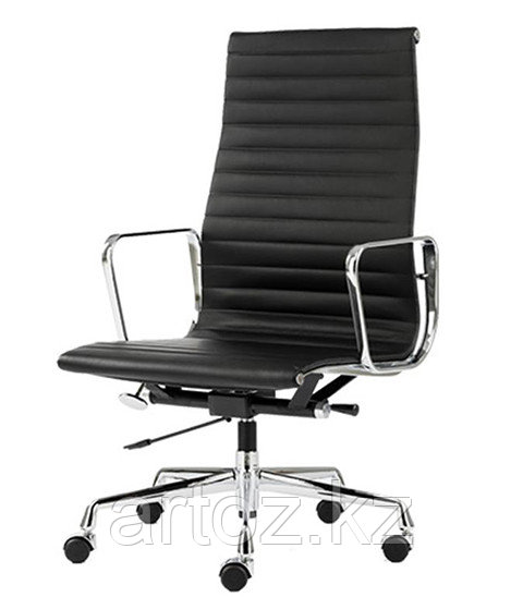 Кресло Eames Aluminium High (Black)