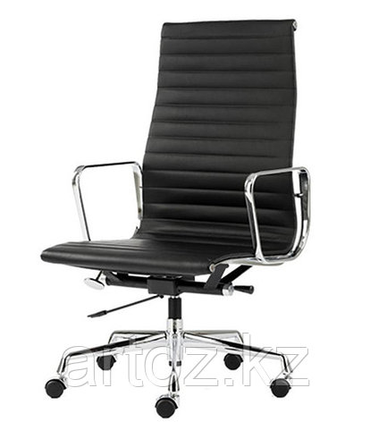 Кресло Eames Aluminium High (Black), фото 2