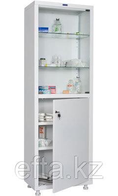 Шкаф медицинский для хранения медикаментов МД 1 1760/SG Размеры: 1810х600х400 мм