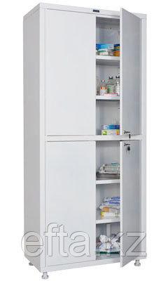 Медицинский шкаф для медикаментов MD 2 1780/SS Размеры: 1810х800х400 мм