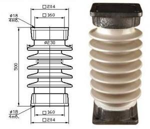 Изолятор опорно-стержневой ИОС 35-1000